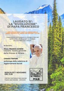 Volantino Laudato sì 7-novembre